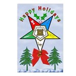OES Holiday Postcards (Package of 8)