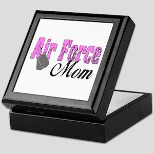 Air Force Mom Keepsake Box