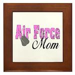 Air Force Mom Framed Tile