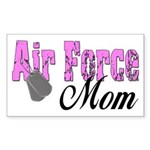 Air Force Mom Rectangle Sticker