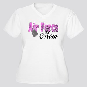 Air Force Mom Women's Plus Size V-Neck T-Shirt