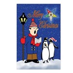 OES Penguins Christmas Postcards (Package of 8)