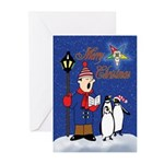 OES Penguins Christmas Cards (Pk of 20)