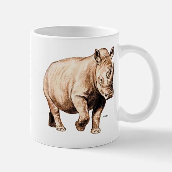 Rhino Rhinoceros Mug