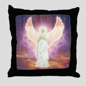 Angel Of God Throw Pillow
