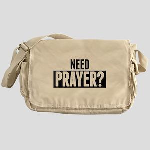 Need Prayer Messenger Bag
