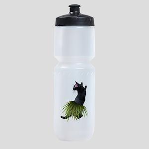 Hula Cat Sports Bottle