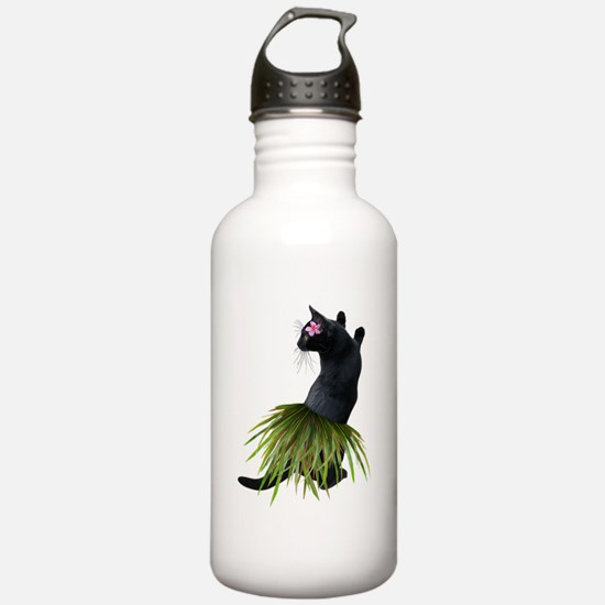 Hula Cat Water Bottle