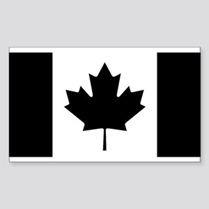 Canada: Black Military F Sticker