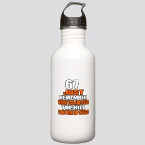67 Just Remember Birth Stainless Water Bottle 1.0L