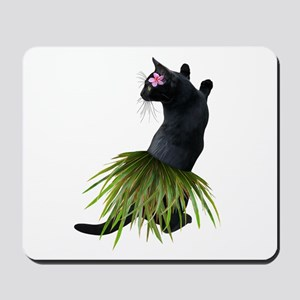 Hula Cat Mousepad
