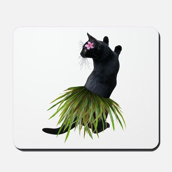 Hula Cat Mousepad