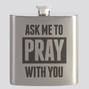 Ask Me To Pray With You Flask