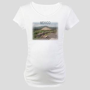 Pyramids of Mexico Maternity T-Shirt