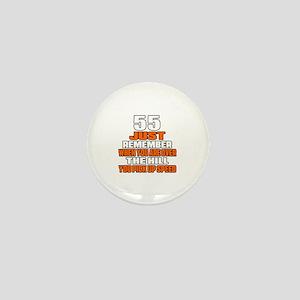 55 Just Remember Birthday Designs Mini Button