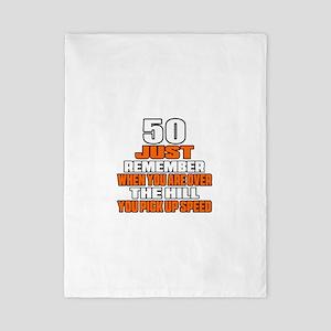 50 Just Remember Birthday Designs Twin Duvet
