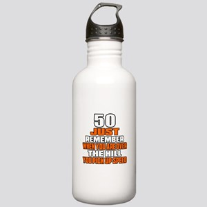 50 Just Remember Birth Stainless Water Bottle 1.0L