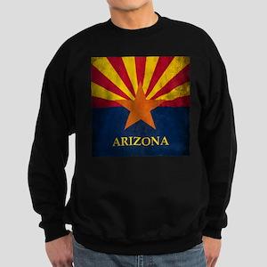 Grunge Arizona Flag Sweatshirt