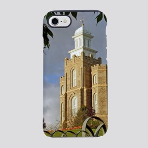 Logan Temple,Cache Valley iPhone 8/7 Tough Case