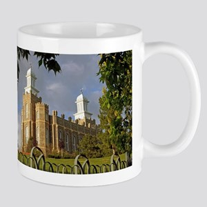 Logan Temple,Cache Valley 11 oz Ceramic Mug