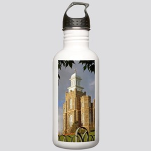 Logan Temple,Cache Val Stainless Water Bottle 1.0L