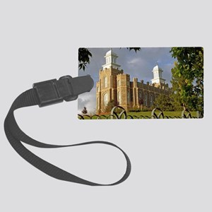 Logan Temple,Cache Valley Large Luggage Tag