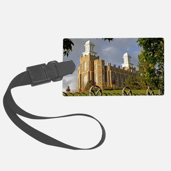 Logan Temple,Cache Valley Luggage Tag