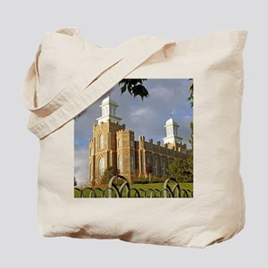 Logan Temple,Cache Valley Tote Bag