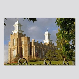 Logan Temple,Cache Valley Postcards (Package of 8)