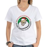Santa's Cousin Ralph Women's V-Neck T-Shirt