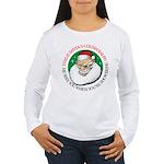 Santa's Cousin Ralph Women's Long Sleeve T-Shirt