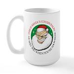 Santa's Cousin Ralph Large Mug