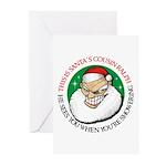 Santa's Cousin Ralph Greeting Cards (Pk of 10)