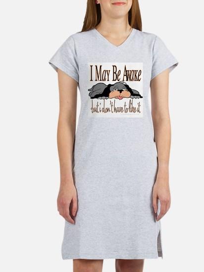I May Be Awake Ash Grey T-Shirt