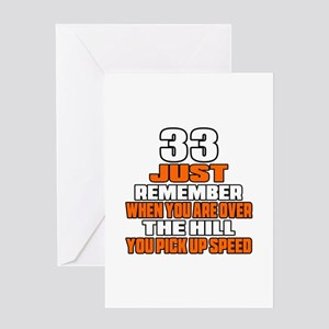 33 Just Remember Birthday Designs Greeting Card
