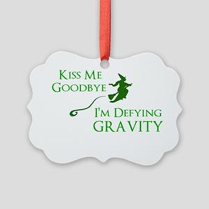 Defy Gravity Ornament