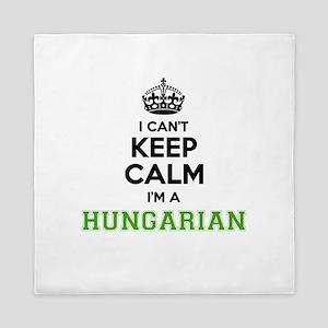 Hungarian I cant keeep calm Queen Duvet