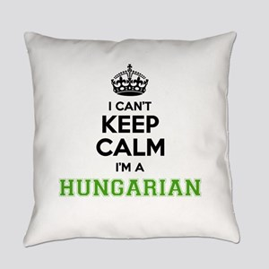 Hungarian I cant keeep calm Everyday Pillow