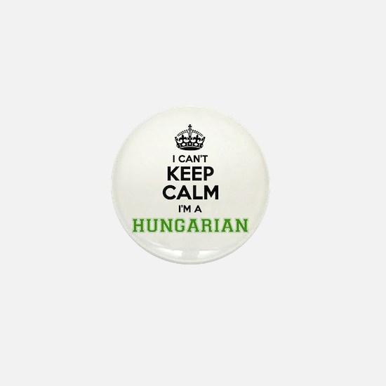 Hungarian I cant keeep calm Mini Button