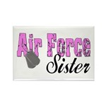 Air Force Sister Rectangle Magnet (100 pack)