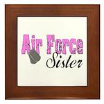 Air Force Sister Framed Tile