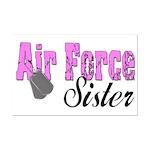 Air Force Sister  Mini Poster Print