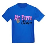 Air Force Sister Kids Dark T-Shirt