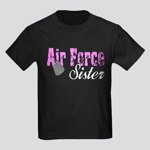 Air Force Sister Kids Dark T-Shirt
