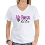 Air Force Sister Women's V-Neck T-Shirt