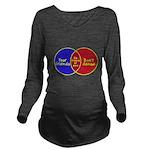 We Can Dance Long Sleeve Maternity T-Shirt