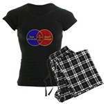 We Can Dance Women's Dark Pajamas