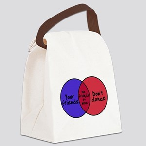 We Can Dance Canvas Lunch Bag