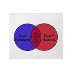 We Can Dance Throw Blanket