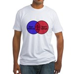 We Can Dance Fitted T-Shirt